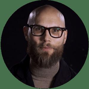 Kristoffer Hedram, expert på lärande i gränslandet mellan pedagogik och teknik.